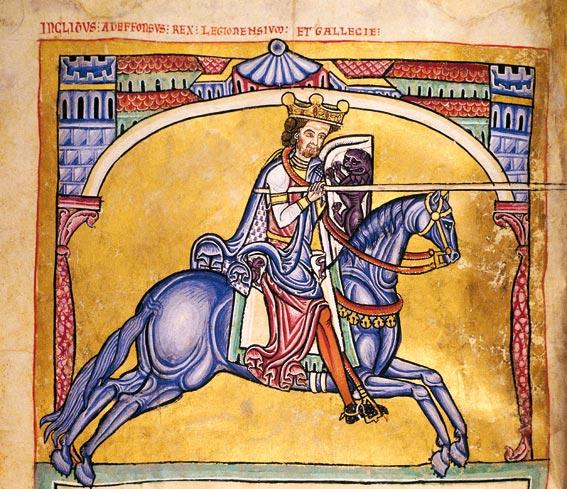 Alfonso IX: Tumbo A de la Catedral de Santiago de Compostela