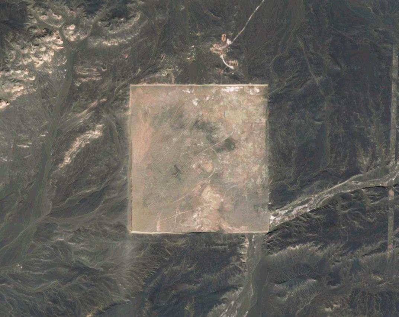 Extraños patrones del desierto chino de Gobi