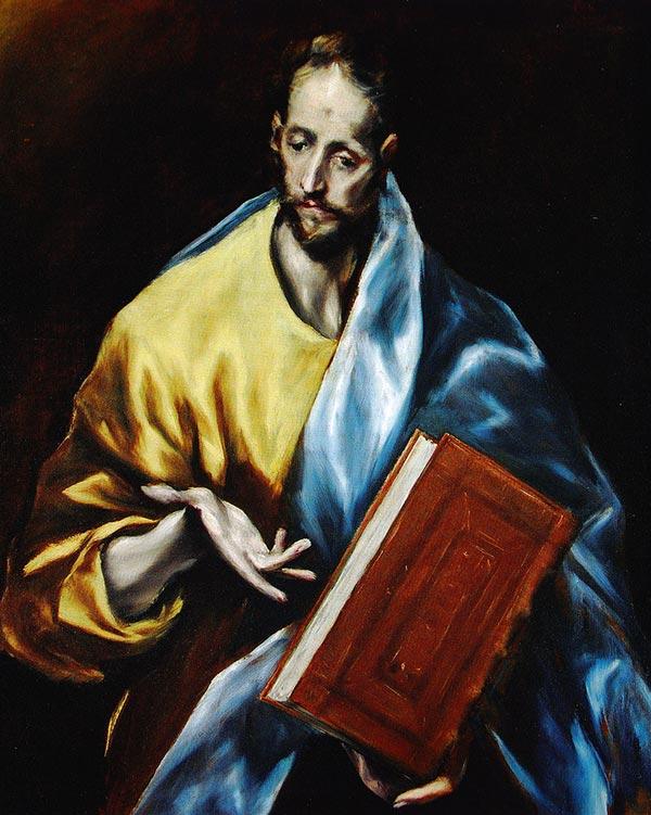 El apostol Santiago (el Menor), por El Greco (1609)