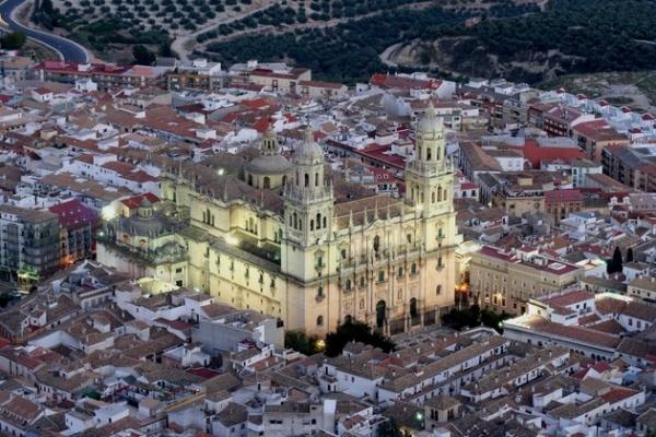 La Catedral de Jaén: vista aérea