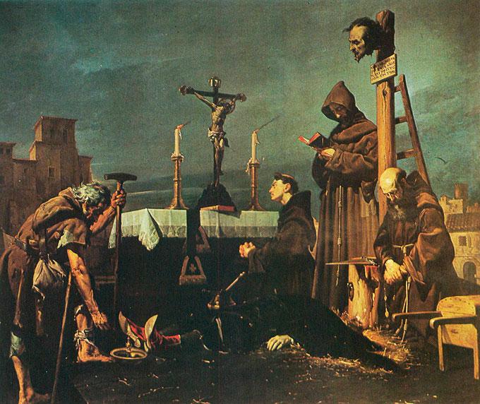 José María Rodríguez de Losada: Colecta para sepultar el cadáver de don Álvaro de Luna (1866)