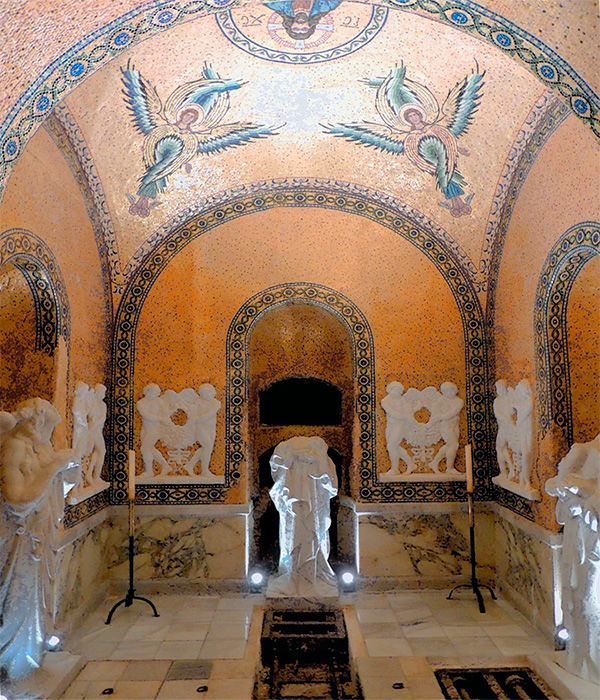 La cripta del Barón de Velasco