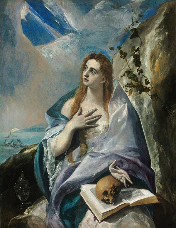 El Greco: La Magdalena Penitente (1576 a 1578)