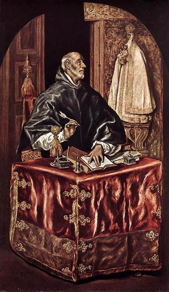 El Greco: San Ildefonso (1603)