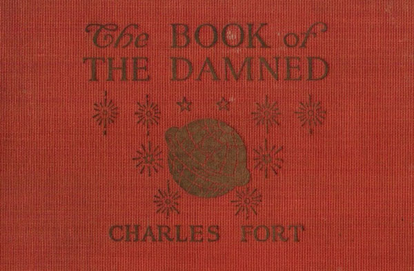 El libro de los Condenados: portada de 1919