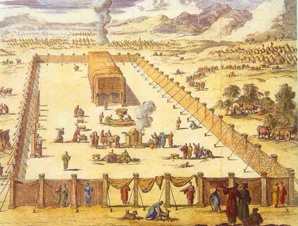 El Tabernáculo (grabado del siglo XVII)