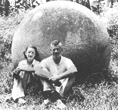 Esferas de piedra: fotografía de principios del siglo XX