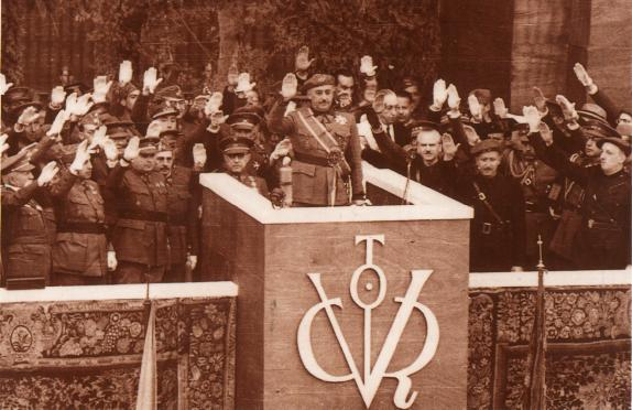 Simbología franquista: el Víctor