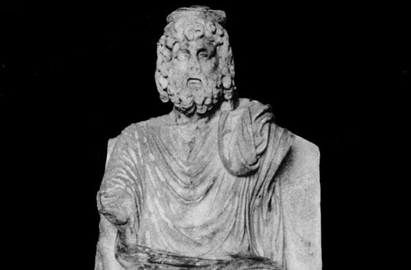 Hierápolis: estatua de Hades (2013)