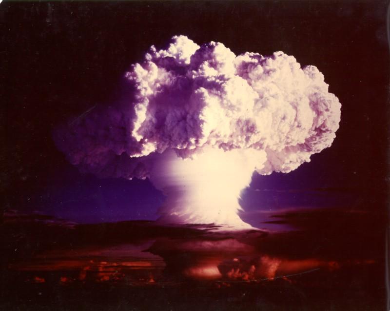 Bomba termonuclear Ivy Mike: explosión