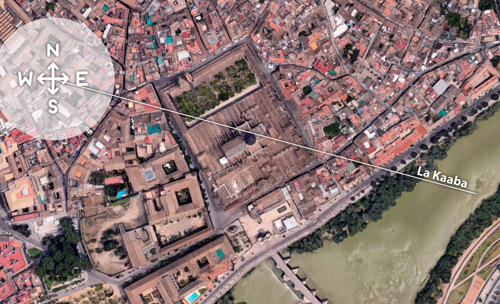 Mezquita-Catedral de Córdoba: orientación