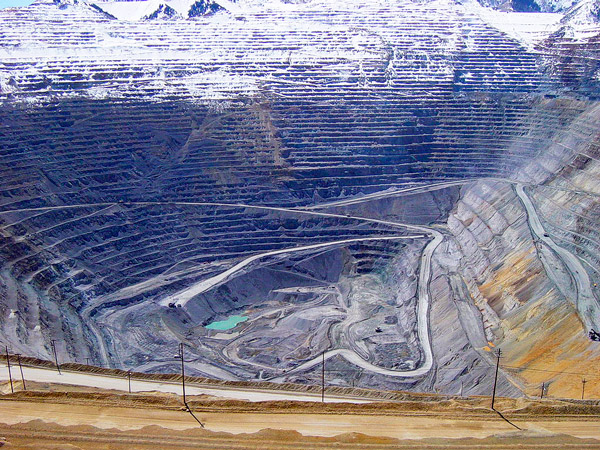 Mina del cañón de Bingham