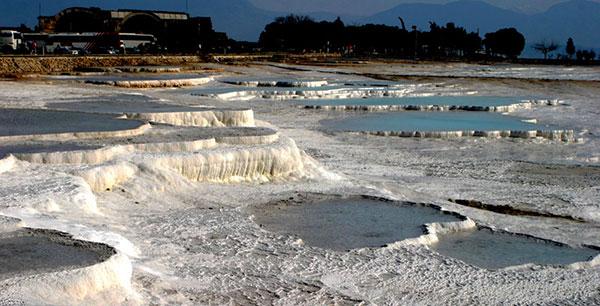 Pamukkale: piscinas naturales de aguas termales