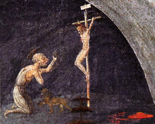 Paolo Uccello: Tebaida (1450) (detalle)