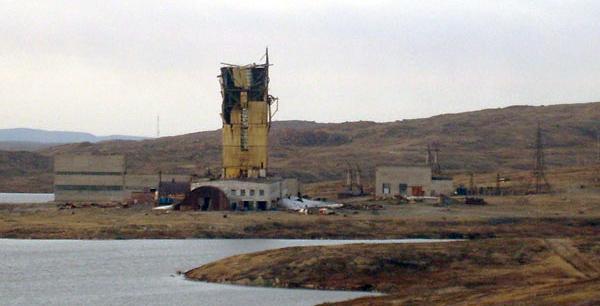 Pozo de Kola: estructura exterior del pozo (2009)