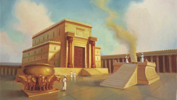 Templo de Salomón: dibujo conceptual