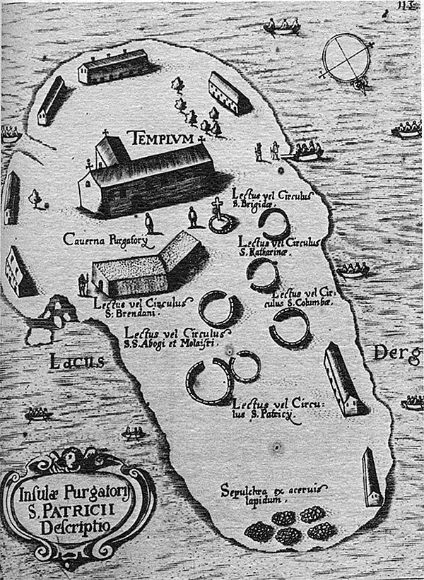 Thomas Carve: mapa del purgatorio de San Patricio