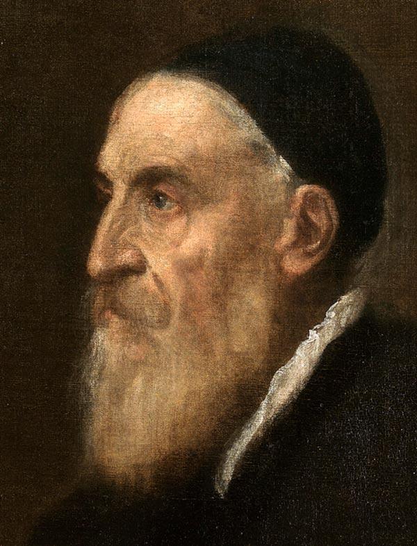 Tiziano: autorretrato (1567)