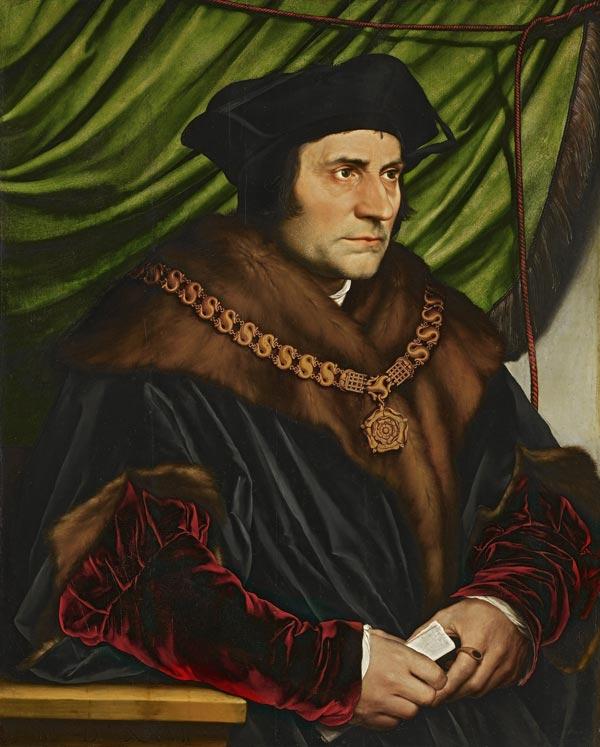 Tomás Moro - Hans Holbein el Joven, 1527