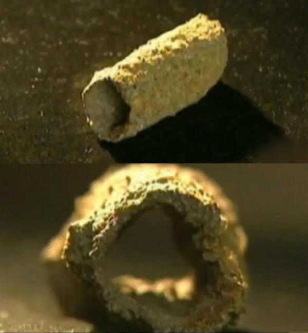Tuberías de Baigong: fragmento de un tubo