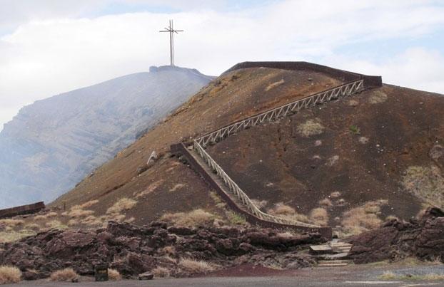 El Volcán Masaya: Sendero hacia la Cruz de Bobadilla